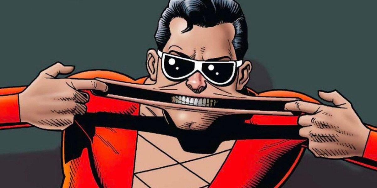 Plastic Man in the comics