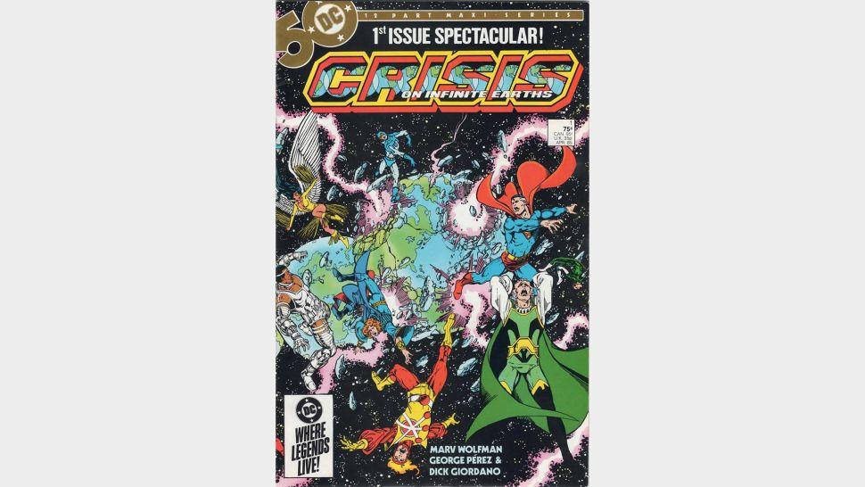 2. Crise nas Infinitas Terras - Crisis On Infinite Earths - (Crédito da imagem: DC Comics)
