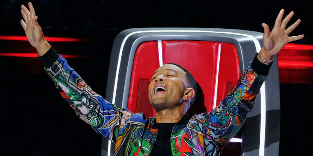 john legend hands up the voice