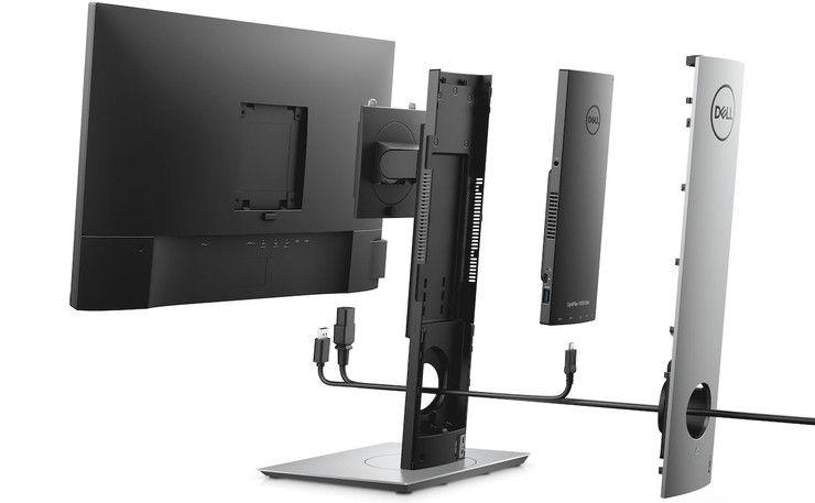 Dell's OptiPlex 7070 Ultra is a minimalist's modular all-in-one PC dream