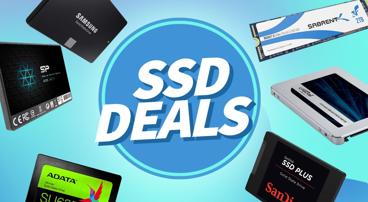 Best Deals on SSDs and Hard Drives 2021