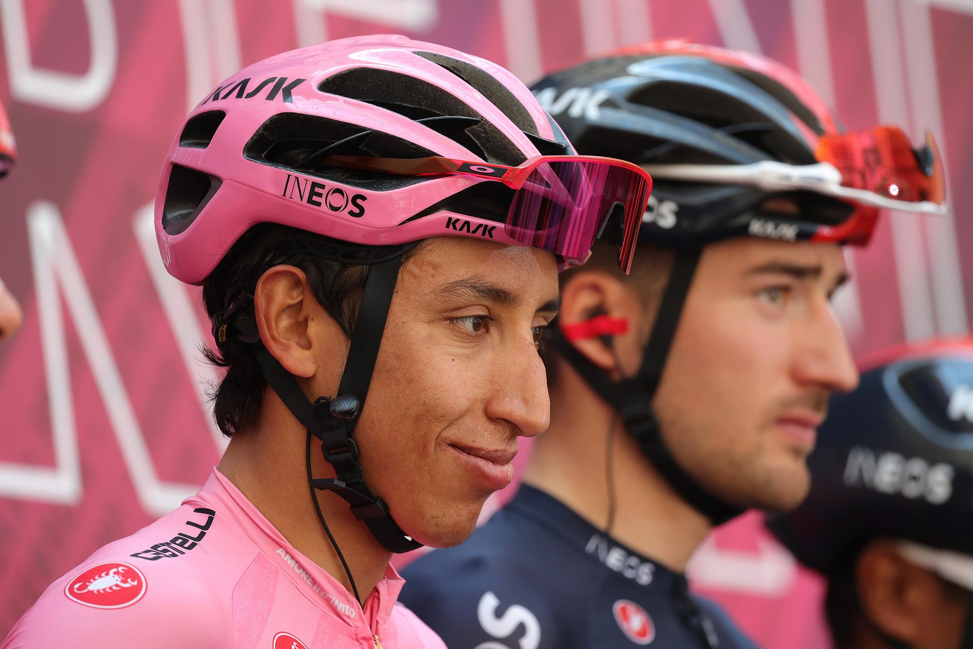 Giro dItalia 2021 104th Edition 18th stage Rovereto Stradella 231 km 27052021 Egan Bernal COL Ineos Grenadiers photo Ilario BiondiBettiniPhoto2021