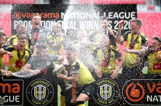 Notts County v Harrogate Town – Vanarama National League – Play-Off – Final – Wembley Stadium