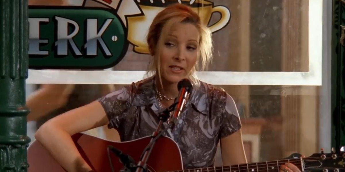 Lisa Kudrow as Phoebe Buffay on Friends
