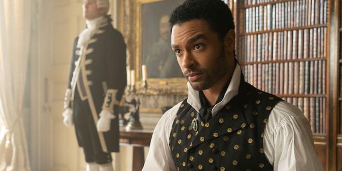 Regé-Jean Page as Duke Simon in Bridgerton