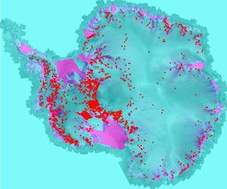 Antarctica water