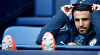 Riyad Mahrez bench