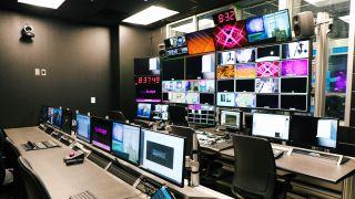 Prosper Rock High School TV studio