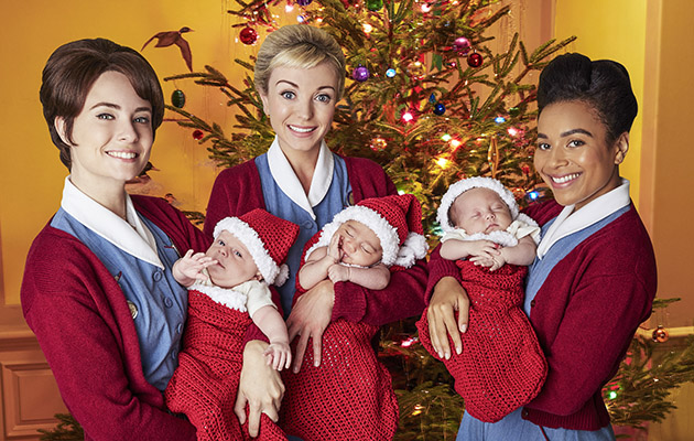 Who Were The Christmas Singers On Call The Midwife 2020 Xmas Helen George on why things went 'Downton Abbey' on Call the Midwife!