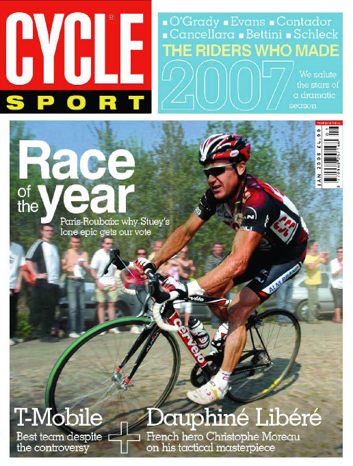 Cycle Sport January 2008 cover