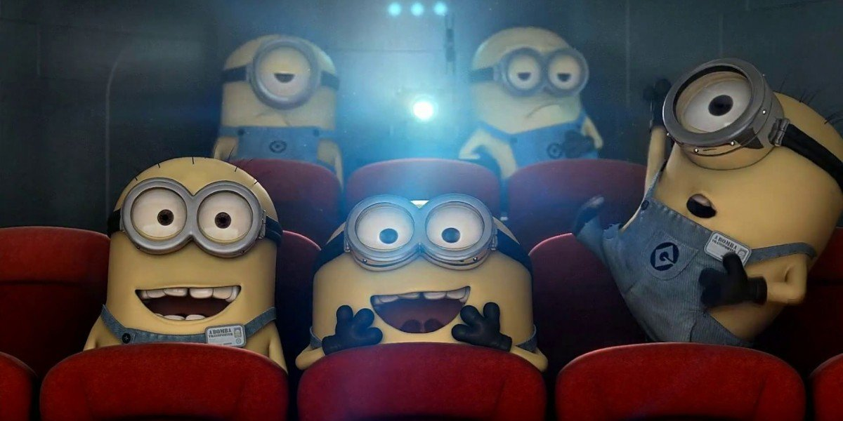 """Screenshot from Despicable Me DVD special feature, """"Orientation Day"""""""