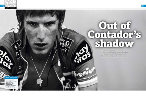 Cycle Sport January 2010 issue