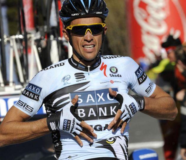 Alberto Contador wins, Volta a Caatalunya 2011 stage three