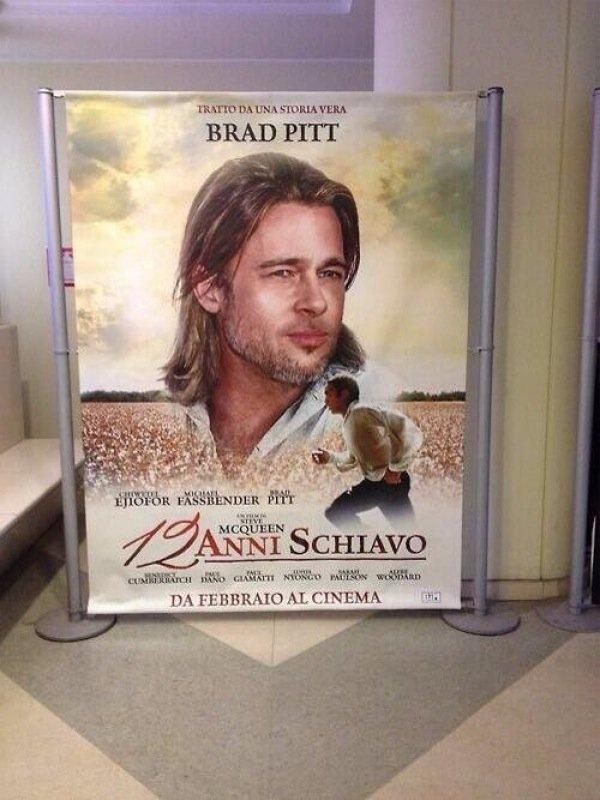 12 Years Brad Pitt