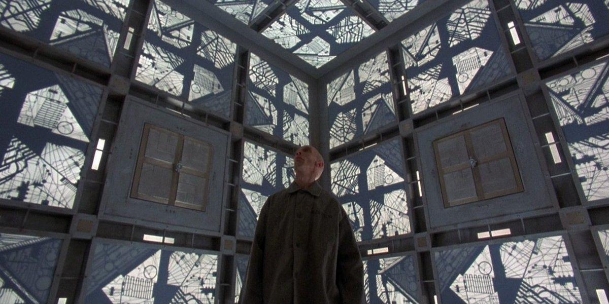 Julian Richings in Cube