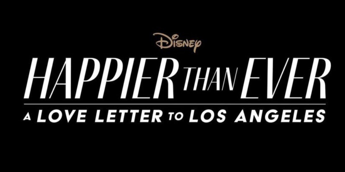Disney's Happier Than Ever Logo