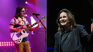 Rivers Cuomo and Ozzy Osbourne