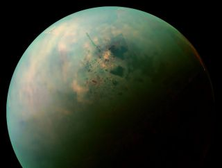 cassini view of titan