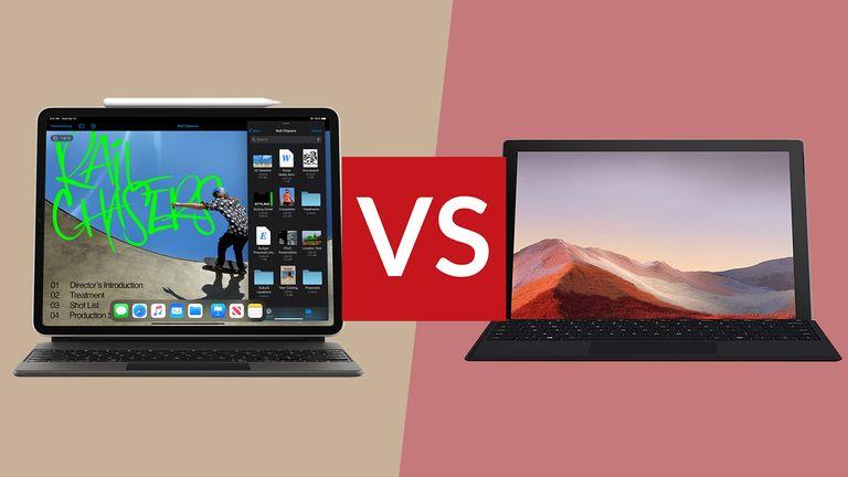 iPad Pro vs Surface Pro 7