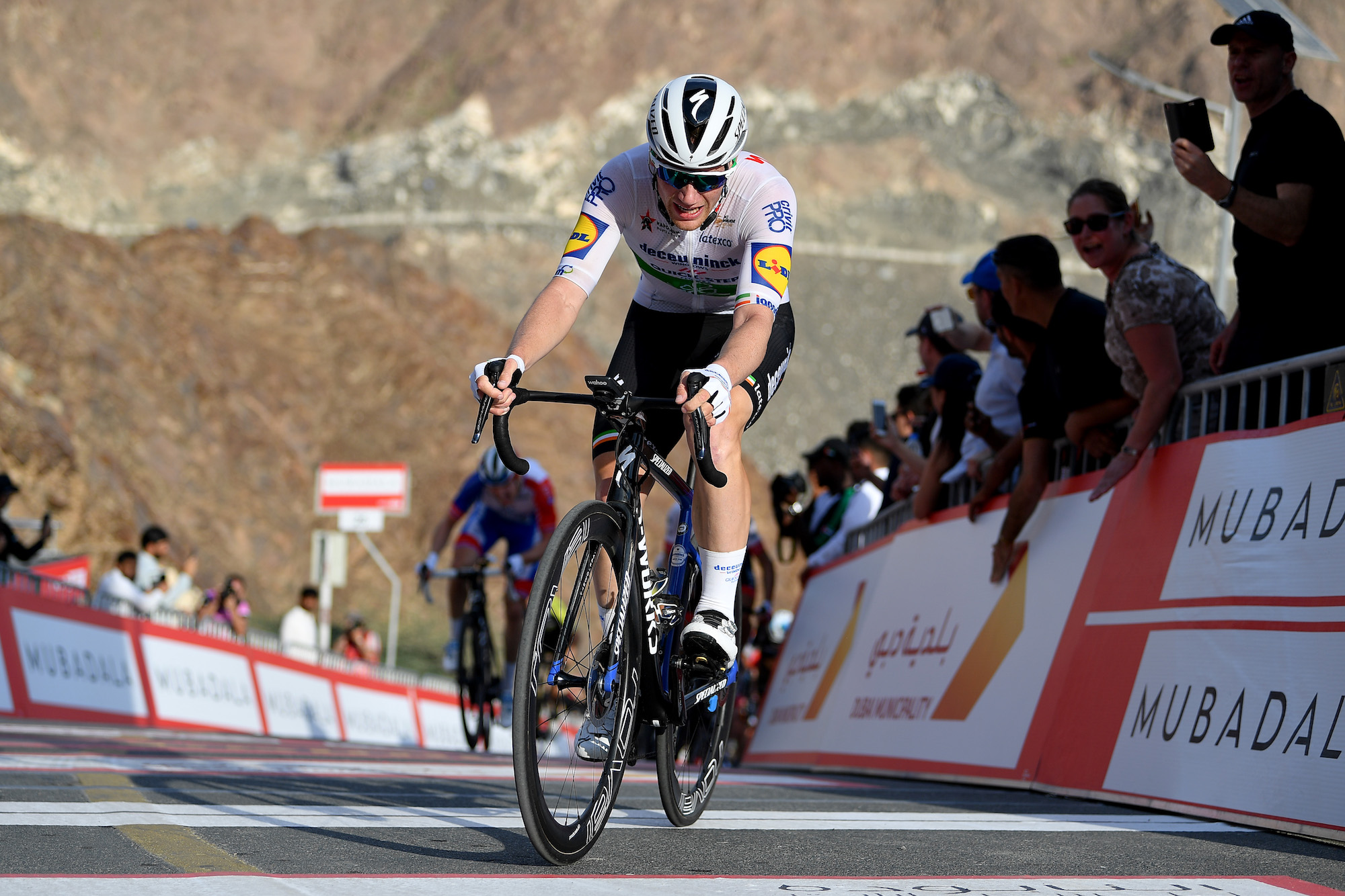 Power data reveals huge numbers put out by sprinters and climbers on Hatta Dam stage of UAE Tour - Cycling Weekly