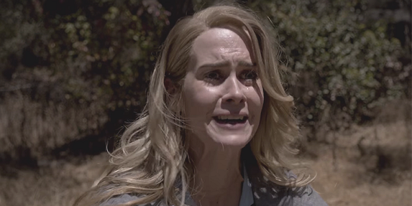 Sarah Paulson as Audrey on AHS: Roanoke felt trapped by her contract and responsibility.