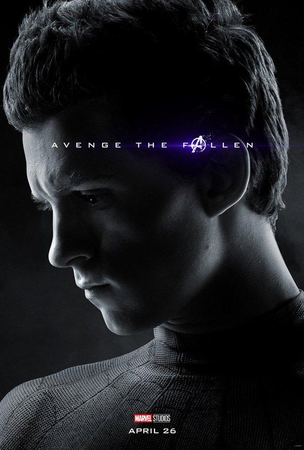 spider-man in avengers endgame poster