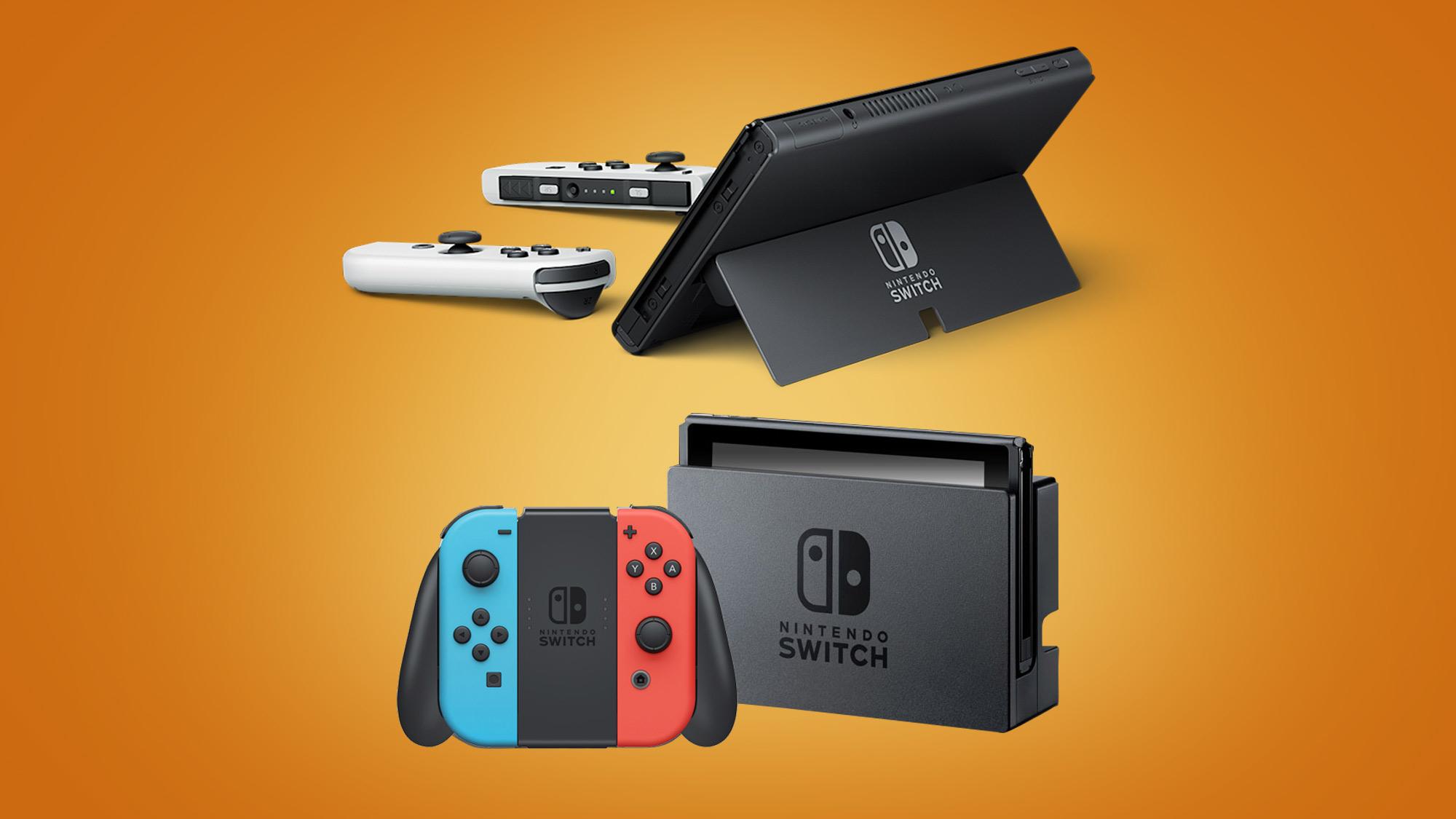 Nintendo Switch OLED vs Nintendo Switch: Nintendon't do 4K | GamesRadar+