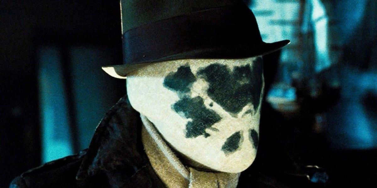 Masked Rorschach from Zack Snyder's Watchmen