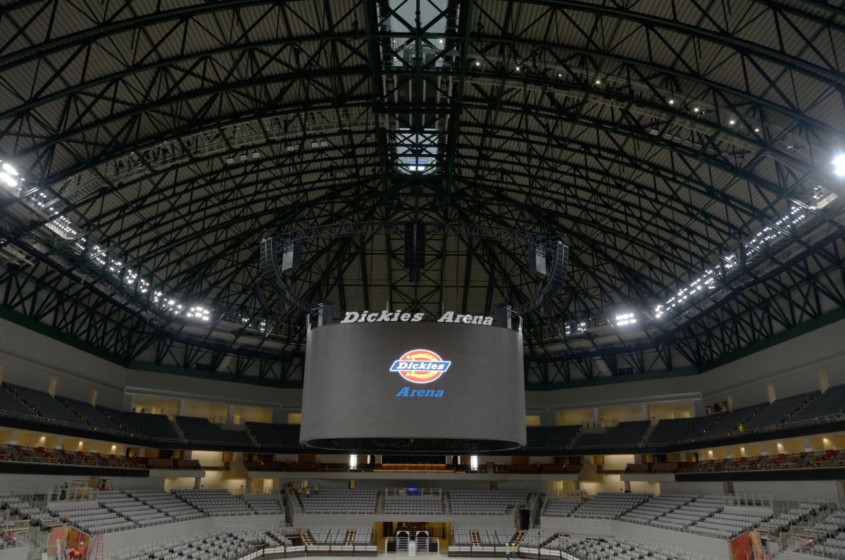 Dickies Arena Opens With State Of The Art Audio Avnetwork