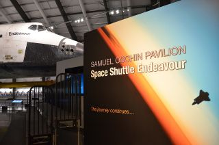 shuttle Endeavour at the California Science Center
