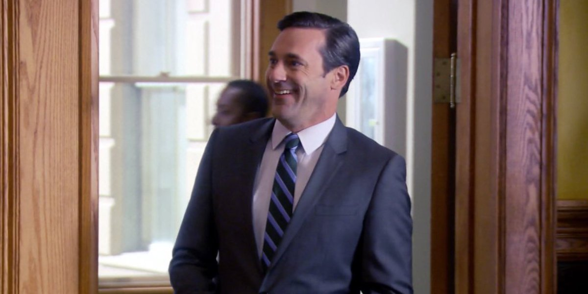 Jon Hamm as Ed on Parks and Recreation