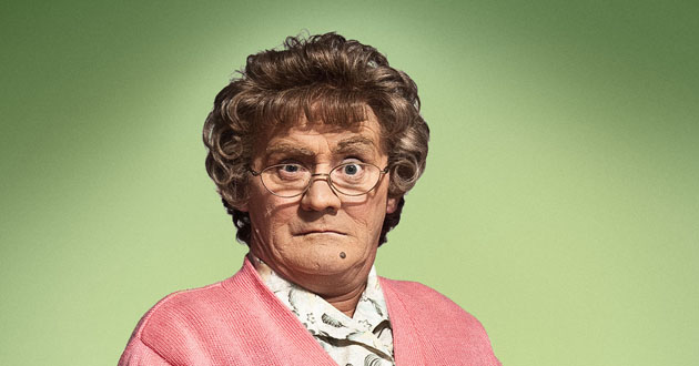 Brendan O'Carroll plays Agnes Brown in Mrs Brown's Boys