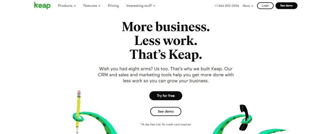 Keap email marketing software review