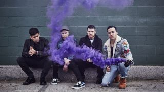 a press shot of fall out boy