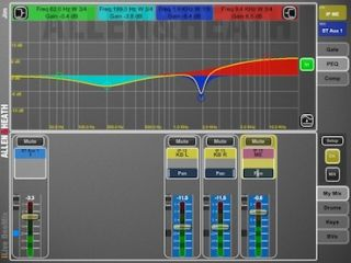 Allen & Heath Launches OneMix Personal Monitoring iPad App for iLive