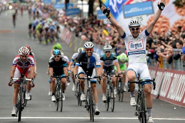 John Degenkolb wins, Giro d'Italia 2013, stage five