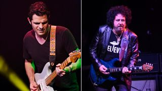 Mark Lettieri and Steve Lukather