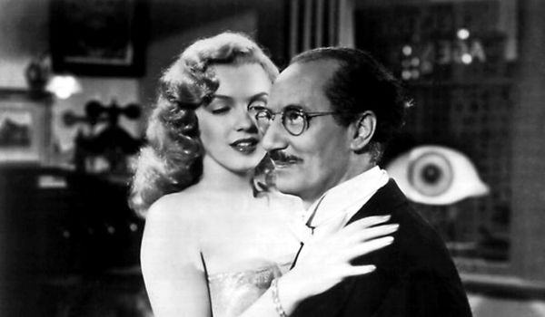 Groucho and Marilyn Monroe in Love Happy
