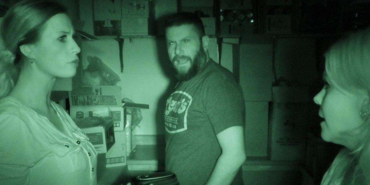 The paranormal team featured in Haunted State on Amazon.