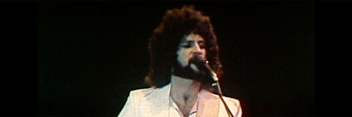 Lindsay Buckingham with some crazy hair.