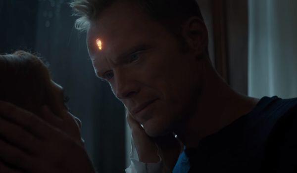 Vision and Wanda in Avengers: Infinity War