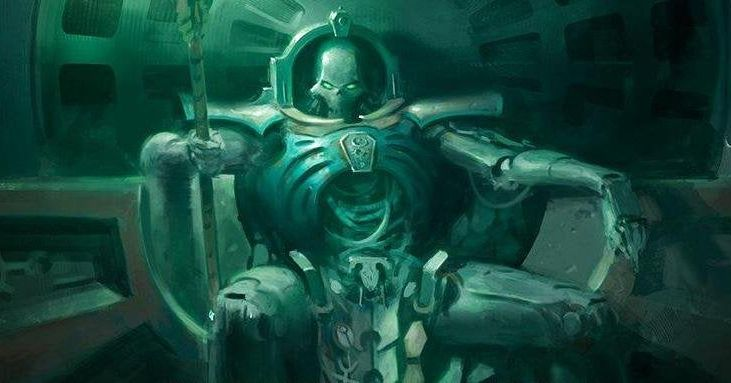 Trazyn the Infinite, from one of the best 40K books