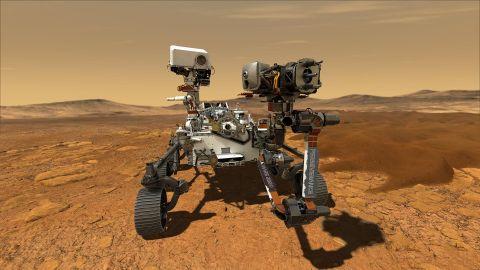 NASA's Perseverance rover.