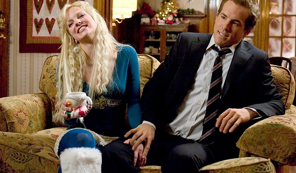 Just Friends Anna Farris Ryan Reynolds an uncomfortable moment on the couch