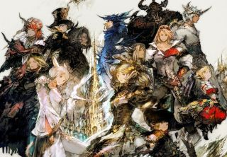 The many characters of Final Fantasy 14