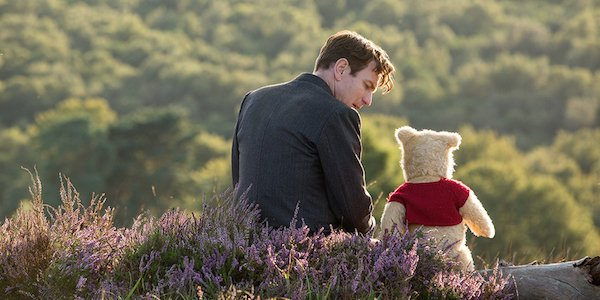 Christopher Robin pooh and christopher robin hang out