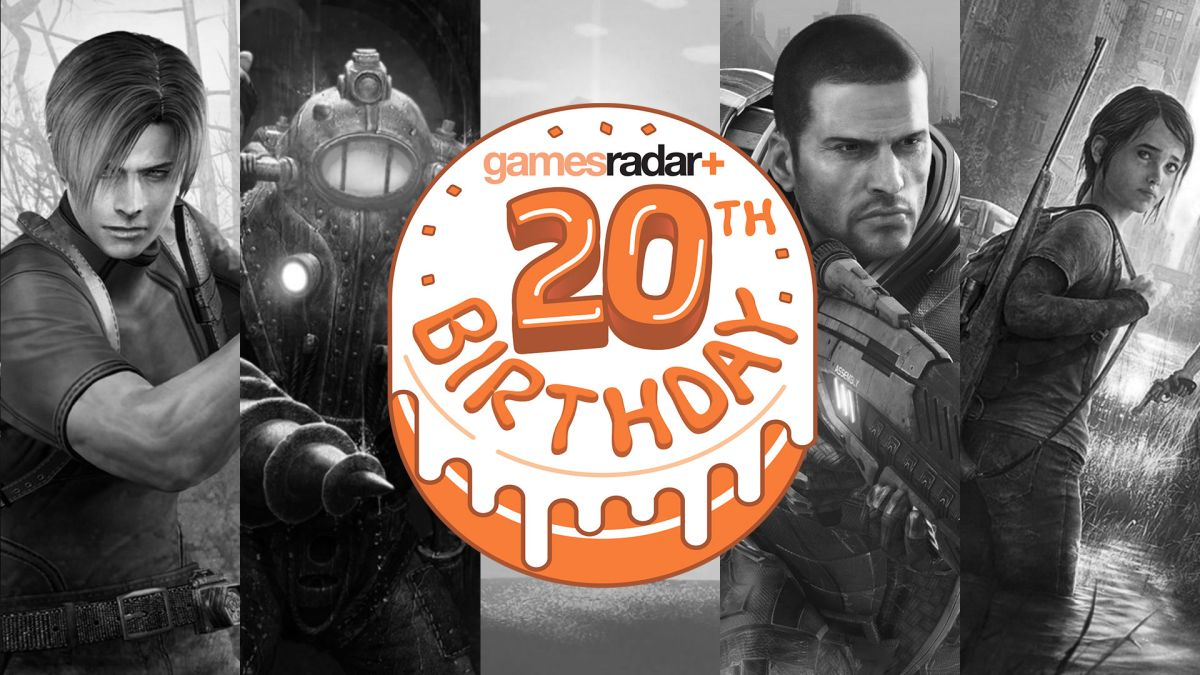 GamesRadar is turning 20! To celebrate, we looked back at the 20 best games of our lifetime