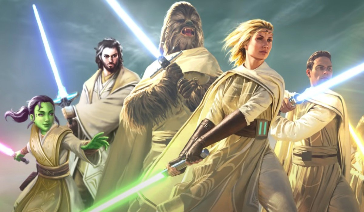Star Wars  Light Of The Jedi