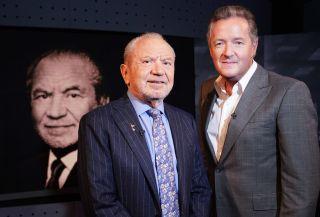 Alan Sugar and PIers Morgan in Piers Morgan's Life Stories