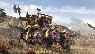 Grom the Paunch from Total War: Warhammer 2